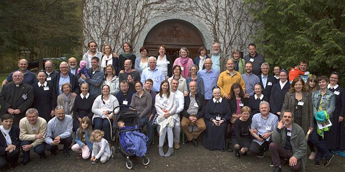 Die Teilnehmer des Europaforums 2018 in Schönstatt/Vallendar (Foto: Neiser)