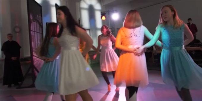Musical-Szene (Foto: Westerwald-Wied TV)