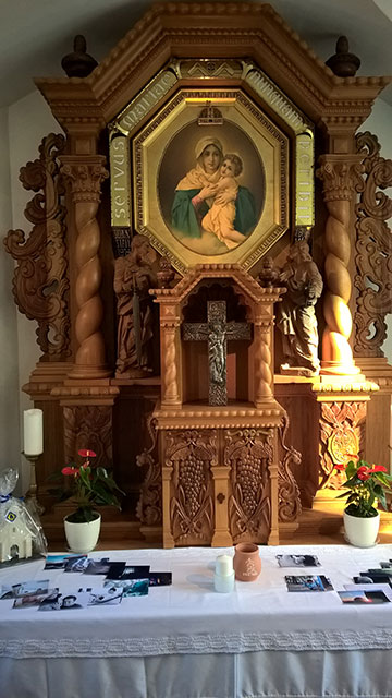 Stille Zeit im Heiligtum (Foto: Bechtold)