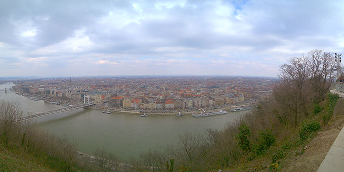 Sightseeing in Budapest (Foto: Bechtold)