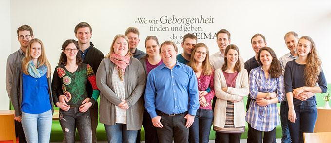 Acht junge Paare nahmen am Ehevorbereitungsseminar über Ostern in Memhölz teil (Foto: Platzer)
