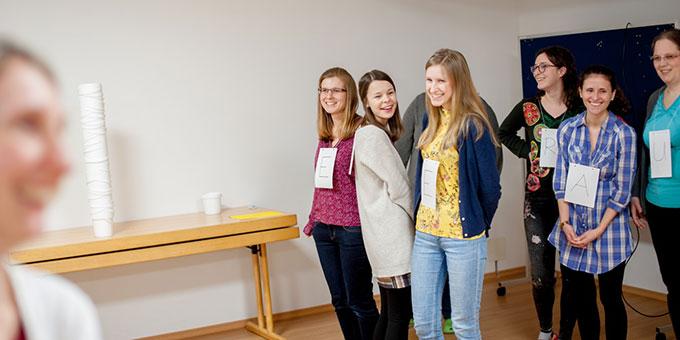 Die Teilnehmerinnen und Teilnehmer hatten gemeinsam auch viel Spaß (Foto: Platzer)