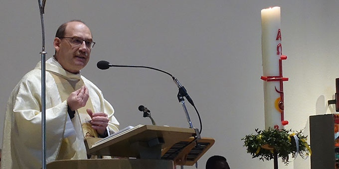 Predigt: Dr. Bernd Biberger, Generaldirektor der Schönstätter-Marienschwestern (Foto: Schönstatt-Pilgerzentrale)