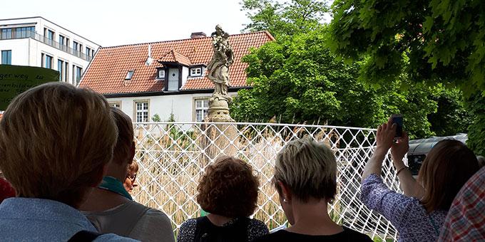 Alte Marienbilder in der Stadt Münster werden neu entdeckt (Foto: Ursula Güttler)