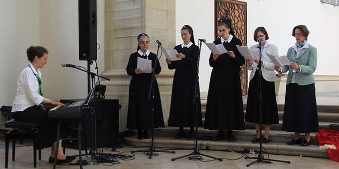 Das Vocalensemble der Schönstätter Marienschwestern (Foto: McClay)