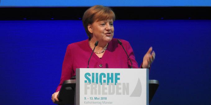 Bundeskanzlerin Angela Merkel (Foto: McClay)