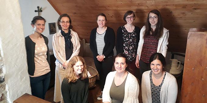 Besuch im Geburtshaus Pater Kentenichs in Gymnich (Foto: Andrea Wehner)