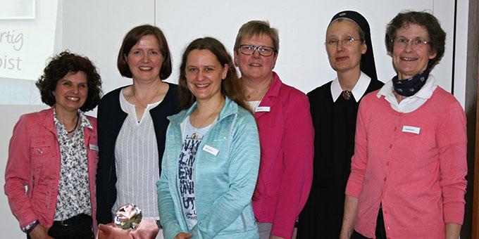 Ein starkes Team hatte zum Tag der Frau der Schönstattbewegung Frauen und Mütter nach Borken eingeladen (Foto: Maria Peitz)