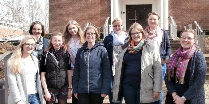 Die Teilnehmerinnen der Oasentage für junge Frauen in Borken (Foto: Junge Frauen)