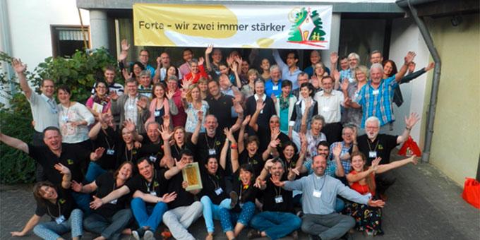 Die Teilnehmerinnen und Teilnehmer am zweiten FORTA-Wochenende in Deutschland (Foto: Wieland)
