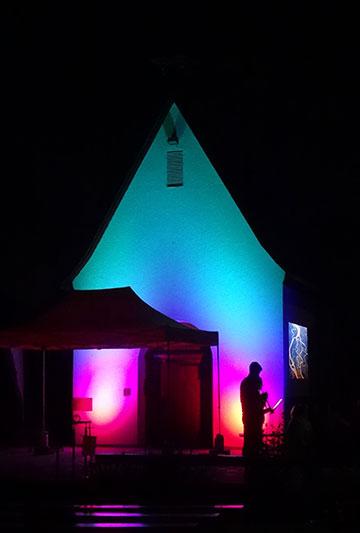 Die Jubiläumsfeier begann am Abend vorher mit einer Vigilfeier der Jugend (Foto: Klaus Kröper)