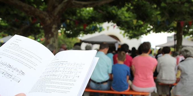 Die Amtsübergabe fand statt im Rahmen des Festes der Begegnung (Foto: Sarah Huber)