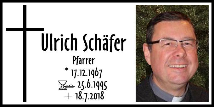 Pfarrer Ulrich Schäfer (Foto: Archiv)