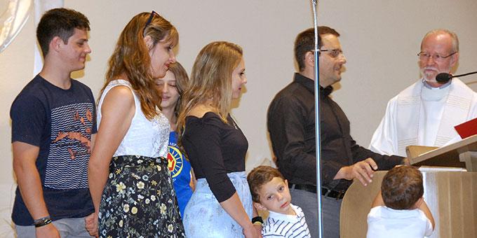 Familie Nasif, Brasilien, Institut der Schönstattfamilien (Foto: Brehm)