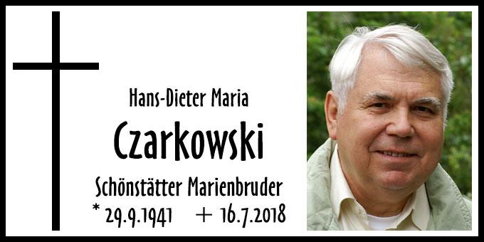 Hans-Dieter Maria Czarkowski (Foto: Schönstätter Marienbrüder)