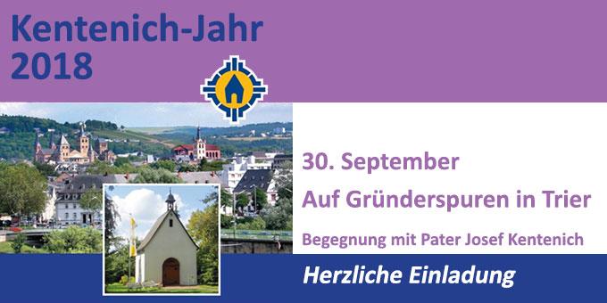Begegnung mit Pater Josef Kentenich in Trier
