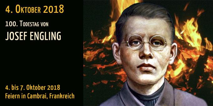 Gedenkfeier zum 100. Todestag von Josef Engling in Cambrai (Foto: Archiv)