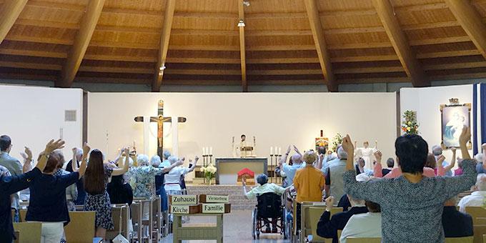 Kirmes-Gottesdienst in der Pilgerkirche (Foto: Trieb)
