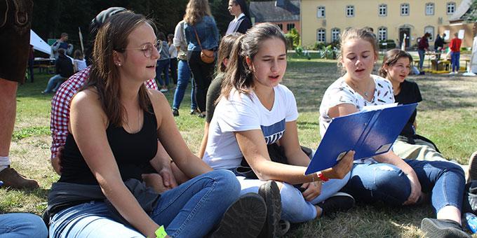 Bei sonnigem Wetter hatten die NdH Teilnehmerinne und Teilnehmer jede Menge Spass (Foto: NdH)