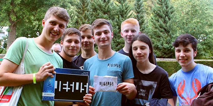 Zeit für einen Fototermin (Foto: NdH)