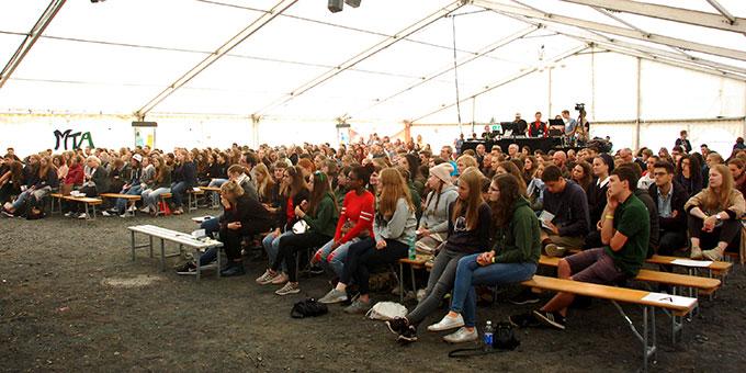 Über 500 Jugendliche haben sich zur Teilnahme an der NdH angemeldet (Foto: Brehm)