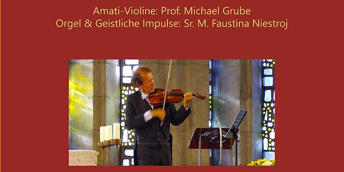Geistliche Abendmusik mit Prof. Michael Grube (Foto: Niestroj)