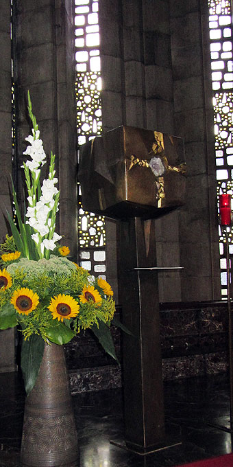 Tabernakel Krönungskirche (Foto: SAL)