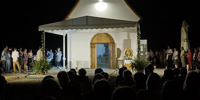 Feier am Vorabend der Einweihung (Foto: Ladislav Padjen)