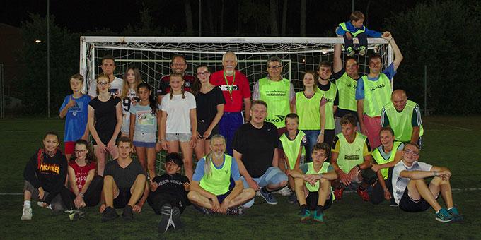 Großes Fussballspiel (Foto: Klaus Wittmann)