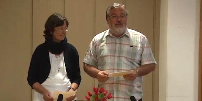 Begrüßung der Teilnehmer und Einführung ins Thema durch Claudia und Heinrich Brehm, Schönstatt-Familienbewegung (Foto: schoenstatt-tv)