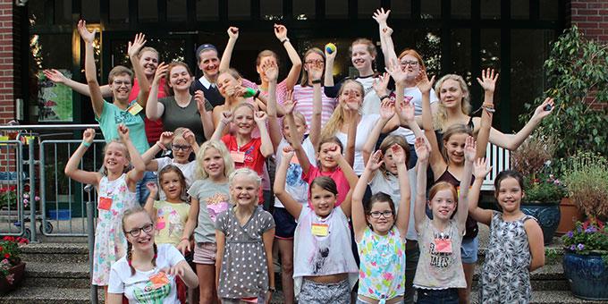 Viel Spass hatten die Teilnehmerinnen der SchönstattMJF-Ferienwoche in Endel (Foto: Imwalle)