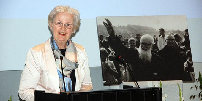 Keynote: Dr. Nurit Stosieck, Schönstätter Marienschwestern (Foto: Brehm)
