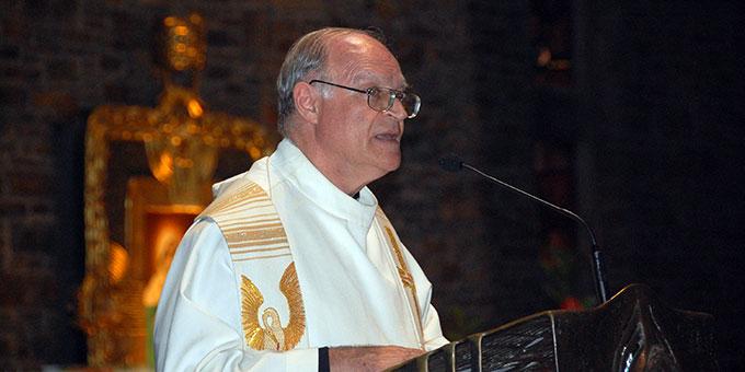 Zukunftswort: Pater Juan Pablo Catoggio, Vorsitzender des Generalpräsidiums des internationalen Schönstatt-Werkes (Foto: Brehm)