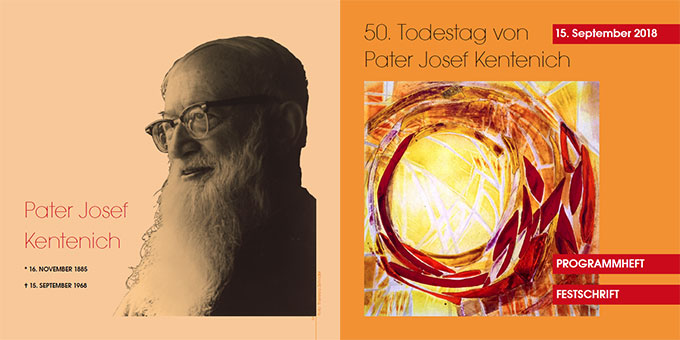 Festschrift zum Pater-Kentenich-Tag erschienen (Grafik: Maria Kiess; Foto: Theresia Zehnder)