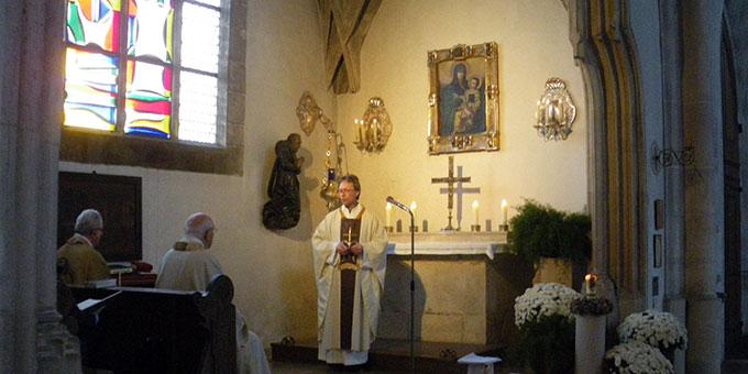 Gottesdienst am 12. Oktober beim Gnadenbild in Ingolstadt (Foto: Grimm)