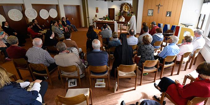 Abschlussgottesdienst in der Hauskapelle im Haus der Familie (Foto: Kröper)