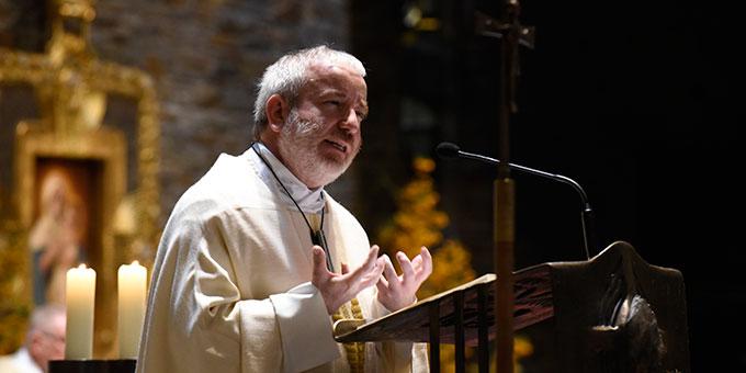 Predigt: Pater Michael Czysch, Standesleiter der Schönstattbewegung Frauen und Mütter (Foto: Kröper)