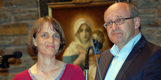 Impuls zum Thema Apostolat: Christine und Erwin Hinterberger, Windach  (Foto: Brehm)