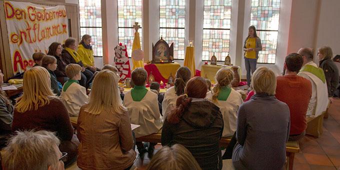 Misiones 2018 im Jossgrund: Aktionstag mit Ministranten (Foto: J Müller)
