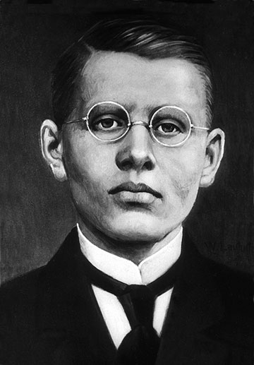 Josef Engling, * 5. Januar 1898 in Prositten, Ermland; † 5. Oktober 1918 bei Cambrai in Frankreich (Foto: Archivbild)