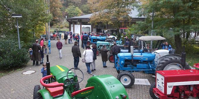 Traktorwallfahrt am Erntedanksonntag nach Schönstatt (Foto: Pilgerzentrale)