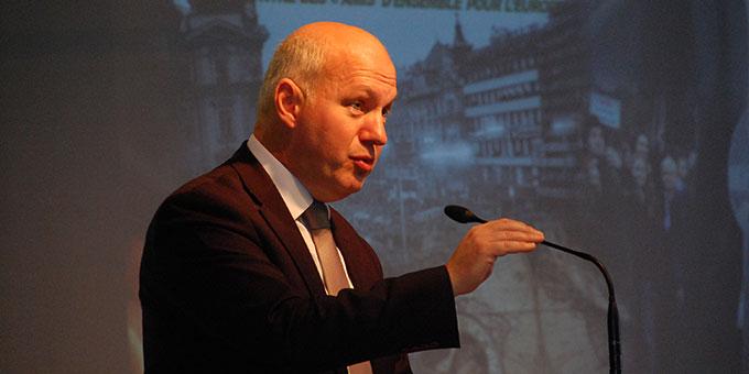Pavel Fischer, Senator im Tschechischen Parlament (Foto: Brehm)