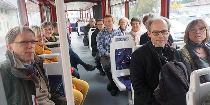 Erfurter Stadtrundfahrt in der Straßenbahn (Foto: Fella)