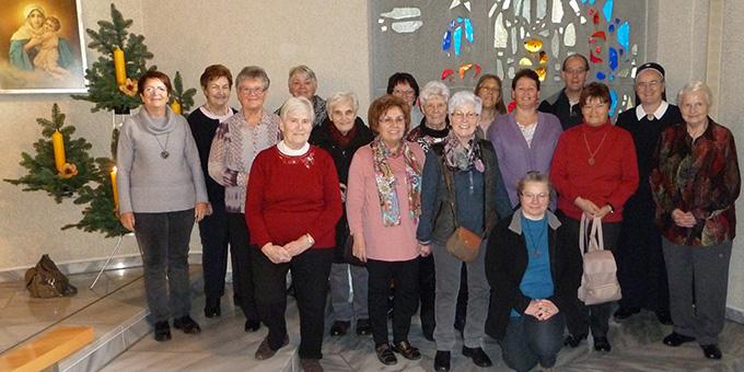 Die Teilnehmer der Emilie-Exerzitien im Schönstatt-Zentrum Metternich, Koblenz (Foto: Mayer)