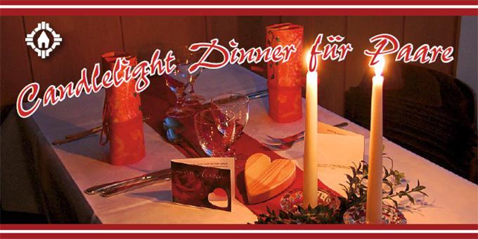 Candlelight-Dinner für Paare in der MarriageWeek (Foto: Brehm)