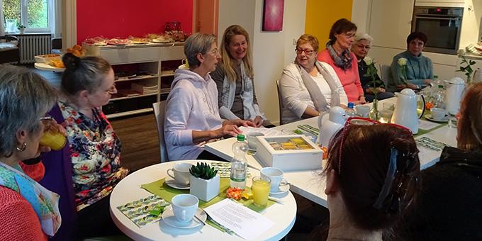 Treffen der Mitarbeiterinnen im Lichtzeichenhaus (Foto: Lichtzeichen eV)