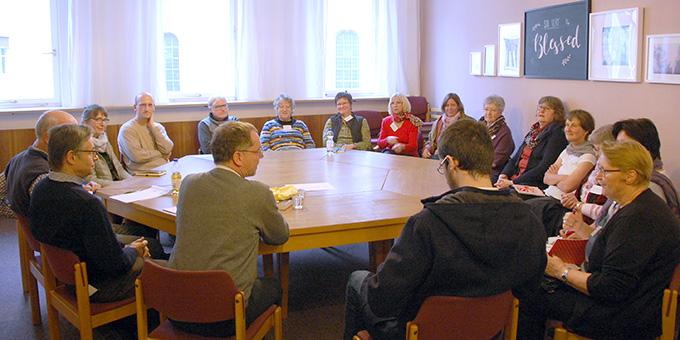 Workshop zum Thema Armut/Caritas (Foto: Brehm)