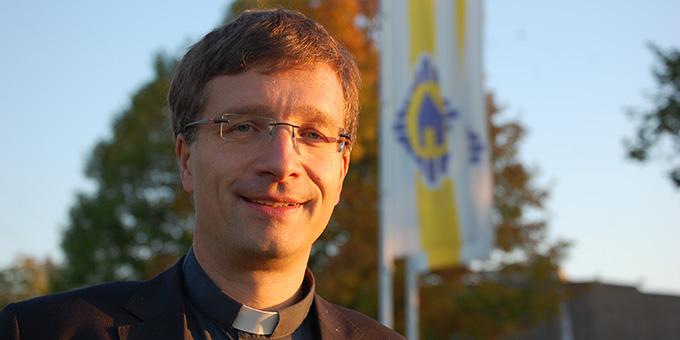 Weihbischof Michael Gerber beim Besuch auf Berg Schönstatt in Vallendar (Archivfoto: Brehm)