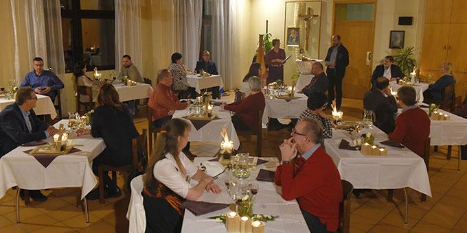 Das MarriageWeek-Candlelight-Dinner konnte an zwei Abenden angeboten werden (Foto: Kröper)