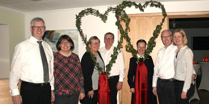 Das Team der MarriageWeek-Candlelight-Dinners in Borken und Münster (Foto: Peitz)